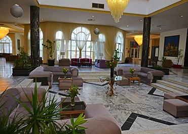 Liberty hôtel skanès monastir hôtels tunisie réception tunisie